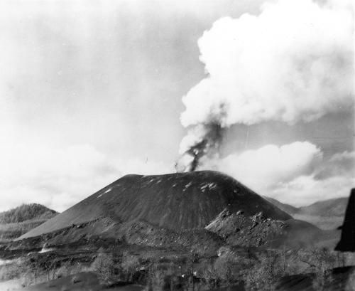 Paricutín 1943, volcán con acta de nacimiento