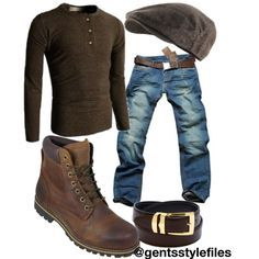 """Gents Style Files """"Casual"""" by kimberlyannhawes on Polyvore featuring Timberland, Nanny State, Doublju, urban, menswear, casualwear and GentsStyleFiles"""
