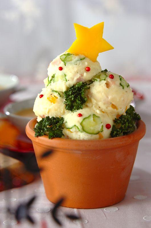 #christmas #potate #salad #クリスマス #サラダ #recipe