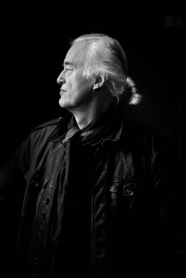 Jimmy Page photographed for the Globe and Mail, Aug. 1, 2015