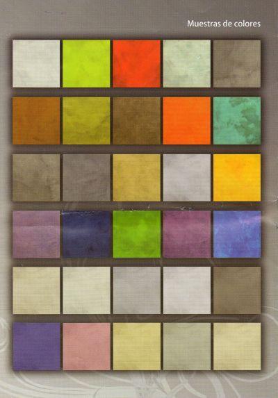 piso de cemento, colores para osar...
