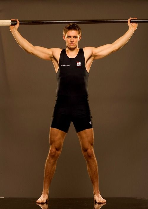 Pete Reed, UK Rowing. Holy quads, Batman!