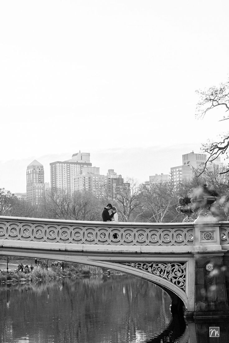 Fall Central Park Engagement Photos in New York - Bow Bridge @Mekyla Leatherwood Leatherwood Leatherwood