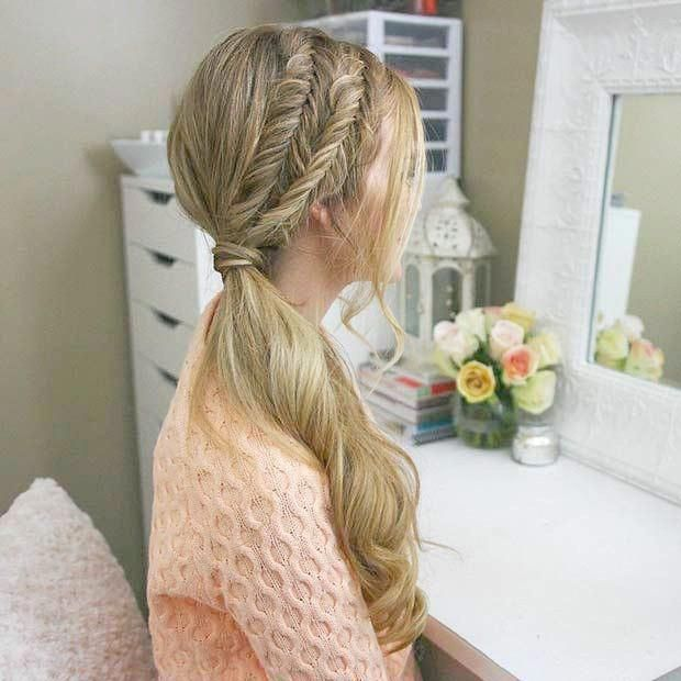 20 Gorgeous Ghana Braids For An Intricate Hairdo In 2019 With Images Side Ponytail Hairstyles Elegant Ponytail Diy Hairstyles