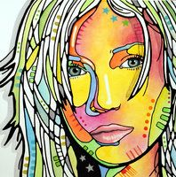 Middle School Self Portrait Idea