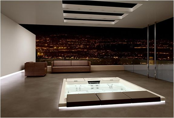 Italian company Teuco is always on the edge of innovation and design of stunning bathtubs, showers, hydrospas and saunas.