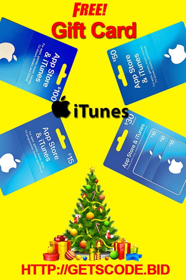 Free iTunes Gift Cards - How to get iTunes Gift Card