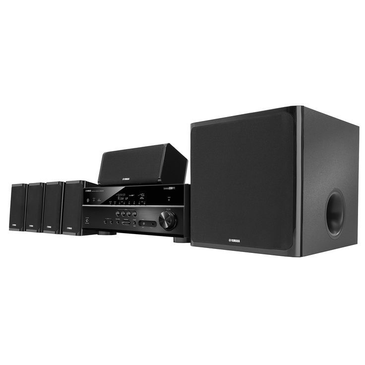 Yamaha YHT-5920UBL 5.1-channel wireless home-theater-in-a-box system