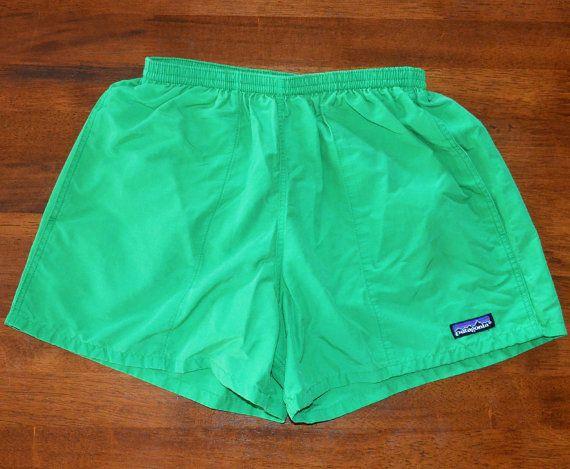 vintage 80s PATAGONIA baggies shorts bathing suit by skippyhaha, $20.00