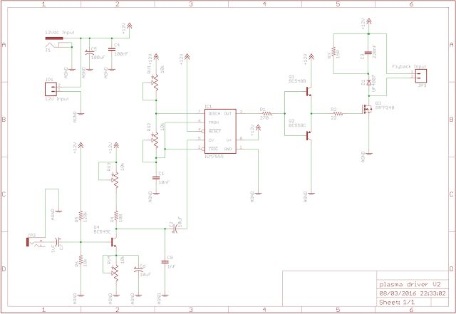 555 flyback driver and plasma speaker part iv