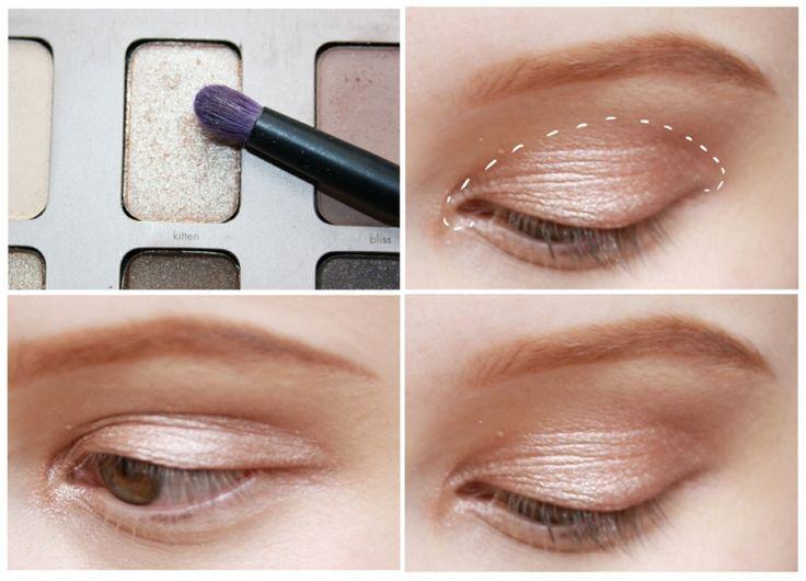 Make-Up-Tipps-augen-professionell-schminken-anleitung-natuerliche-nude-nuancen-pinsel
