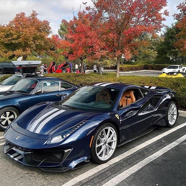 Ferrari 488 Pista On Instagram Gosh Blu Swaters Is A