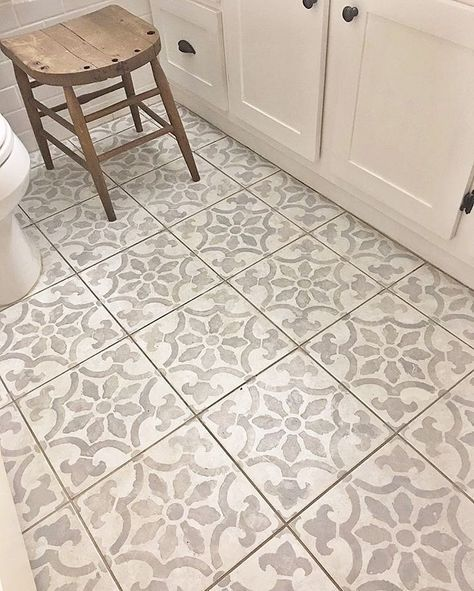 Six Impressive Diy Projects Using Tile Stencils Painting