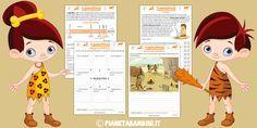 Schede didattiche sul paleolitico per la scuola primaria
