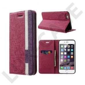 Trenter (Hot Pink / Purple) iPhone 6 Nahkakotelo