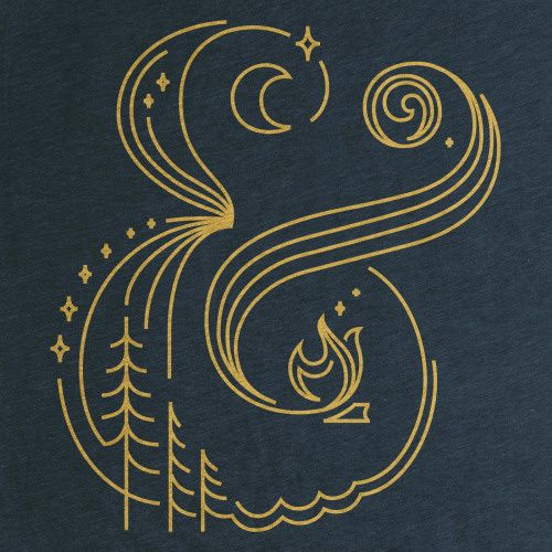 &, ampersand, typography, gold, minimal in Typography