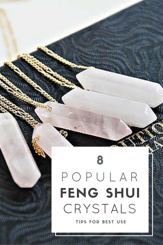Here's how to use these 8 popular feng shui crystals in your home