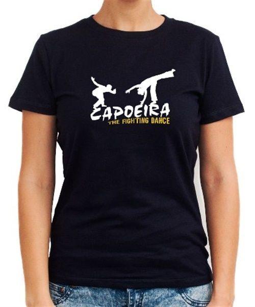 Capoeira The Fighting Dance Women T-Shirt