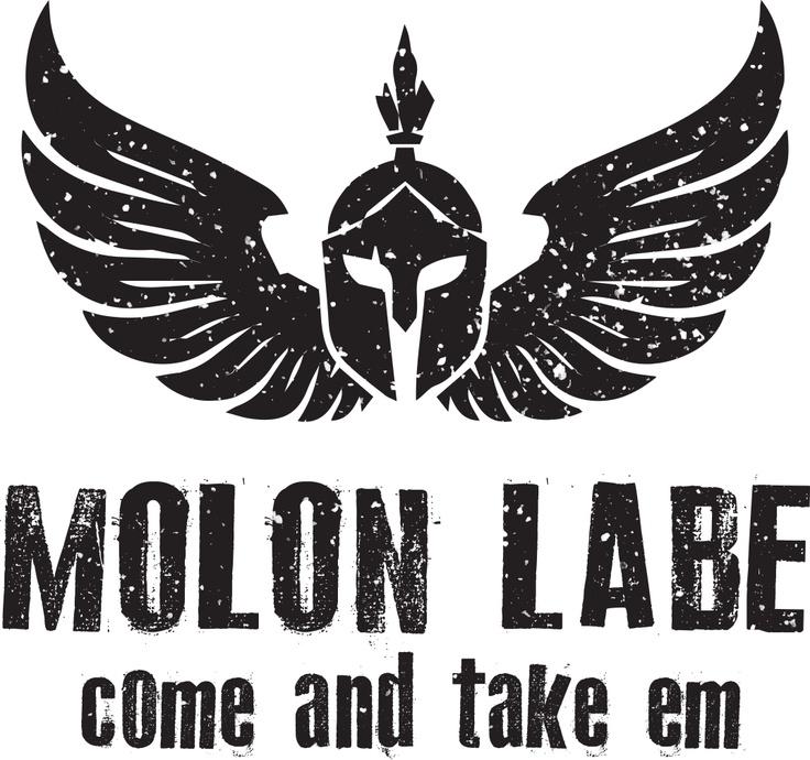 Molon Labe shirt I designed. Come and take em! #gun #military #patches