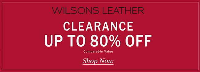 Online Up To 80 Off Clearance Store Wilsons Leather Scope Entire Store Ends On 04 17 2020 More Deals Http Www Geo In 2020 Wilsons Leather Coding Leather