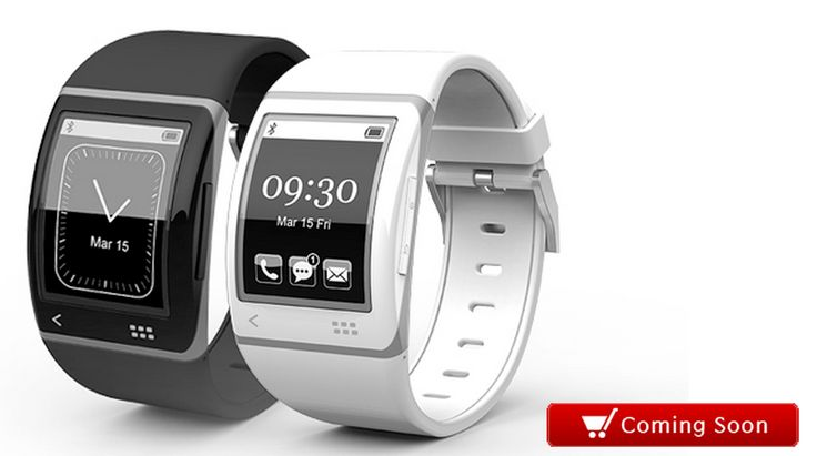 Sonostar Smartwatch (coming soon): Similar to the Pebble, the $180 Sonostar smartwatch has a 1.73-inch E Ink display that is – unlike the Pebble – also a touchscreen.