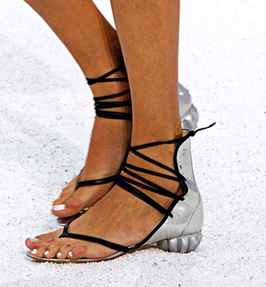 Chanel shoes spring 2012