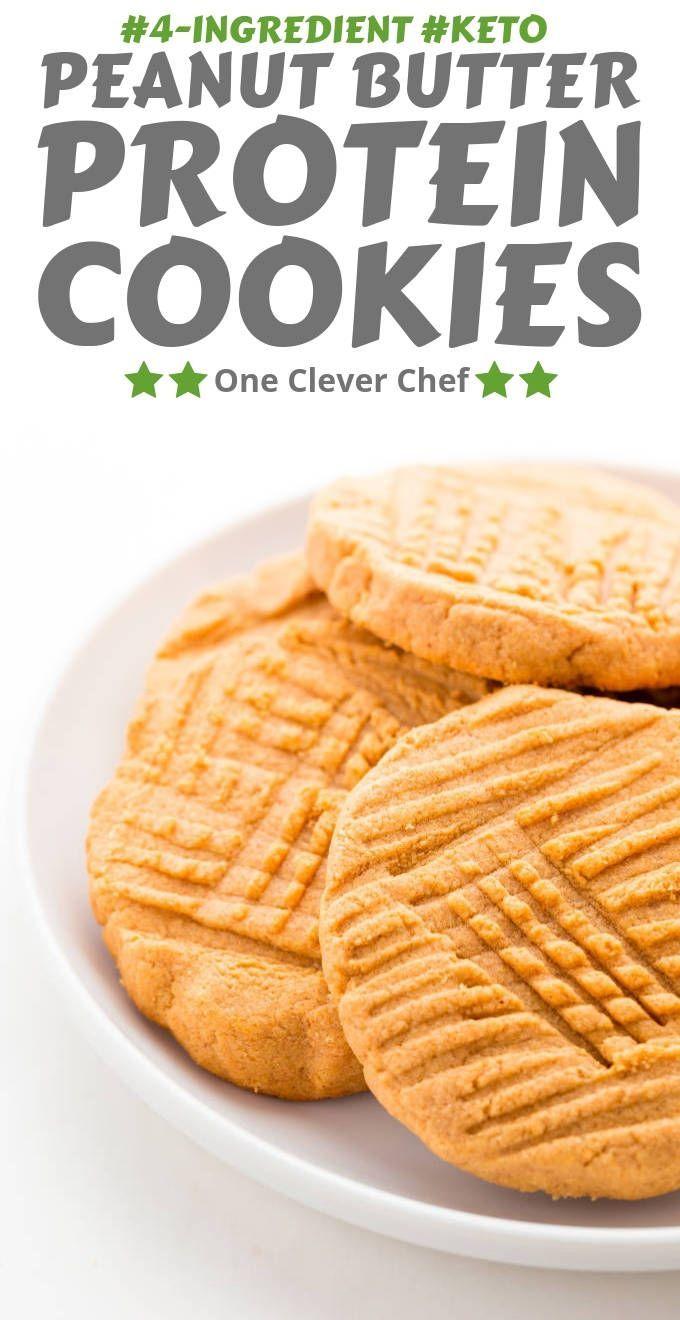 Peanut Butter Protein Cookies – #Butter #Cookies #…