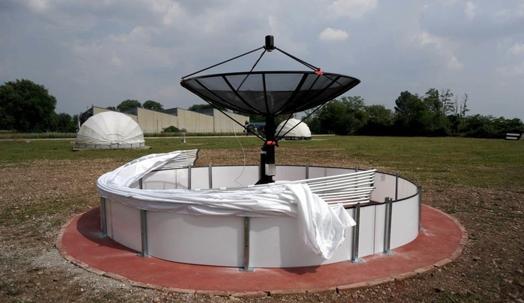 Final version of our #radiotelescope is now ready for tests. We'll start recording data and radio sky pictures for components checking.  L'ultima versione del nostro #radiotelescopio è ora pronta per i test. Cominceremo a registrare dati e radio immagini per il controllo dei componenti.