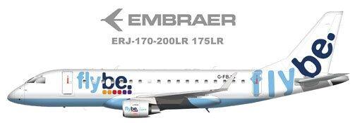 flybe Embraer ERJ-170-200LR