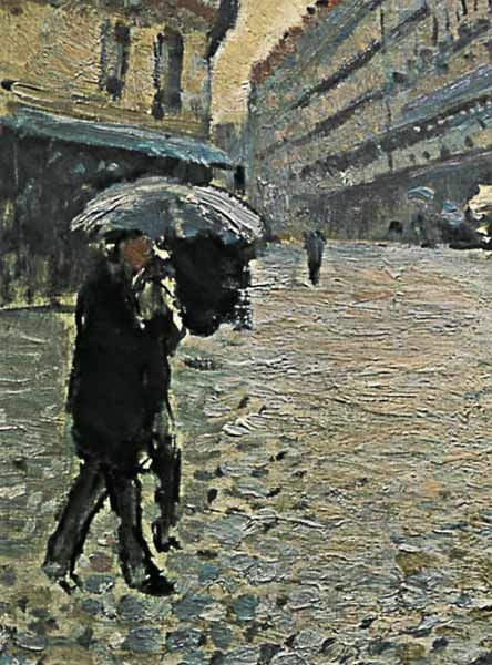 Gustave Caillebotte-Paris, a Rainy Day