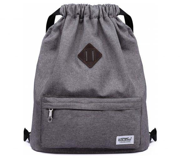d58072530cc5 9. Drawstring Sports Backpack Lightweight Gym Yoga Sackpack Shoulder ...