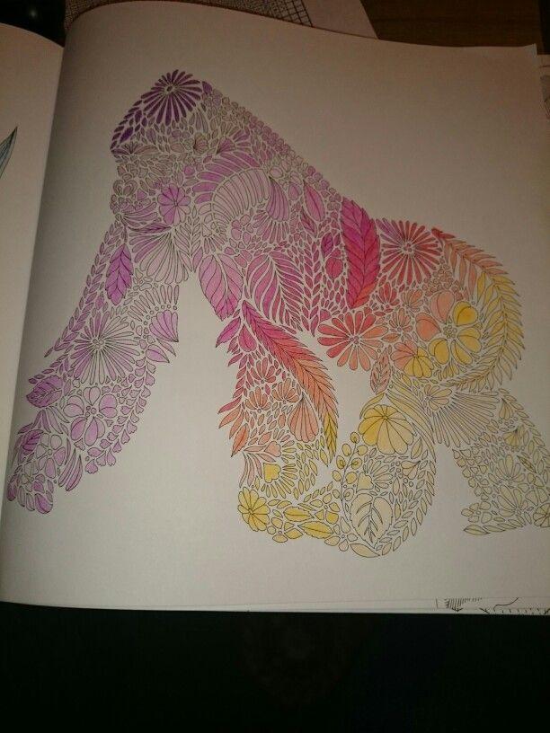 Millie Marotta Animal Kingdom Gorilla Coloring SheetsAdult