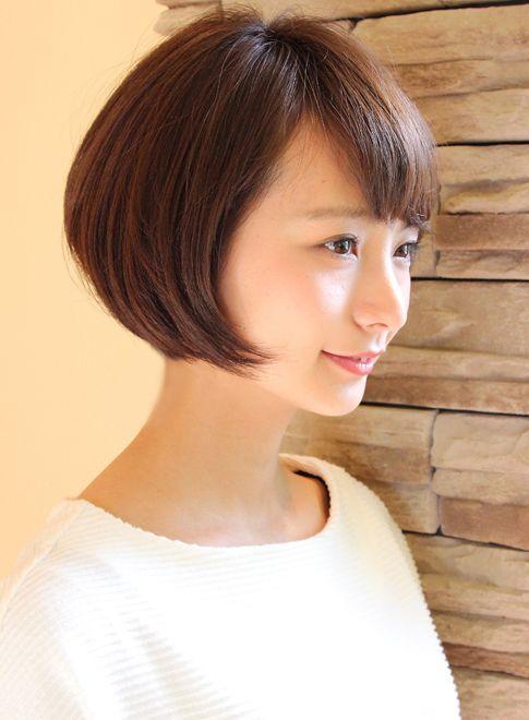 丸みが可愛いコンパクトなショートスタイル|髪型・ヘアスタイル・ヘアカタログ|ビューティーナビ