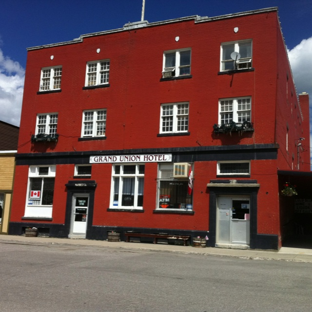 Grand Union Bar (My sister owns it!) Coleman, Crowsnest Pass, BC