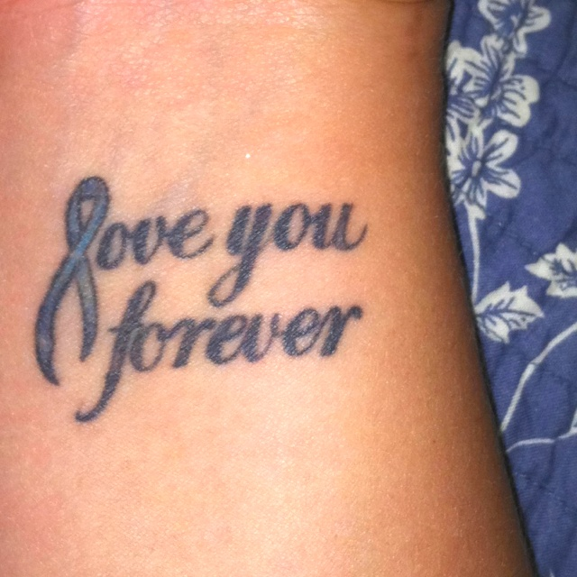 the 25 best colon cancer tattoos ideas on pinterest breast cancer tattoos cancer ribbon. Black Bedroom Furniture Sets. Home Design Ideas