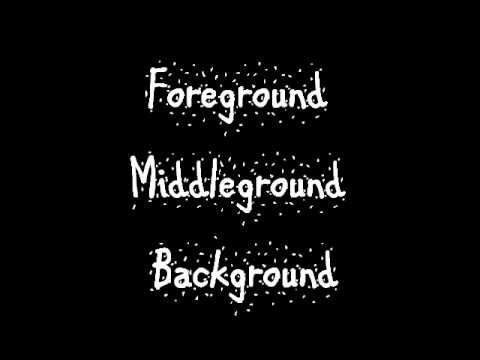 ▶ Foreground Middleground Background Rap - YouTube