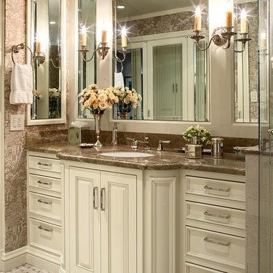 cabinets: Bathroom Design, Cabinets, Bathroom Vanities, Masterbath, Bathroom Mirror, Bathroom Ideas, Master Bath, Traditional Bathroom, San Francisco