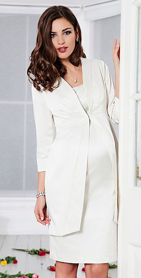 Oria Wedding Coat (Ivory) by Tiffany Rose