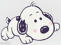 Snoopy as a pup