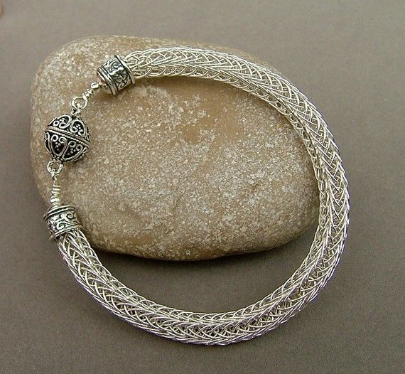 Knitting With Metal Wire : Best images about viking knit on pinterest copper