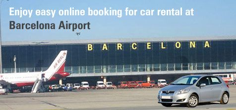 Enjoy easy online booking for #carrental at #BarcelonaAirport and make the most of your vacations.