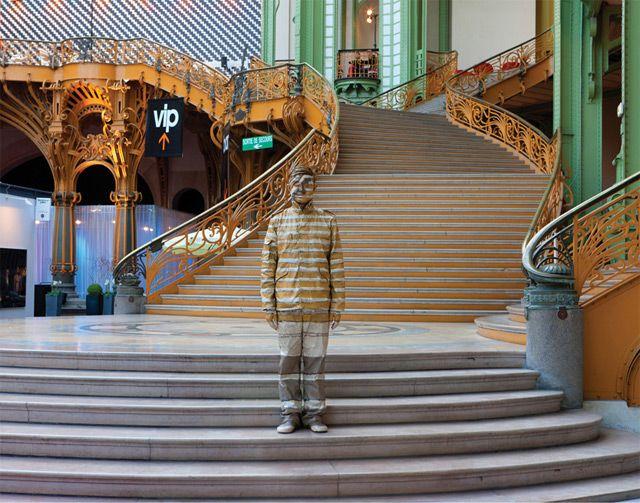 The Invisible Man: Artist Liu Bolin Hides in Plain Sight