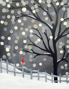 Get event details for Wed Jan 04, 2017 7:00-9:00PM - Scarlet Winter. Join the paint and sip party at this Fort Collins, CO studio.