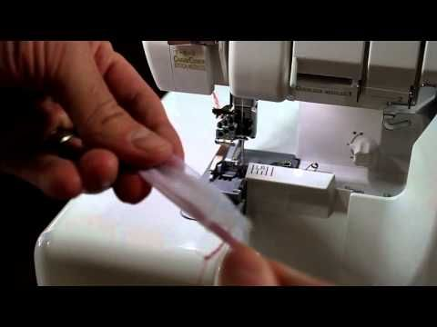 """""""The Three Stitches"""" demonstrate the Baby lock Evolution Serger - YouTube"""