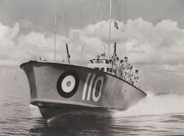 RAF World War Two 100 Class High Speed Launch HSL 110 - Air Sea Rescue boat
