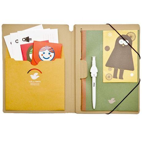Notebook, Portfolio & Folder in one!