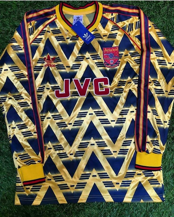 1991/92 Long Sleeve Arsenal Away Shirt