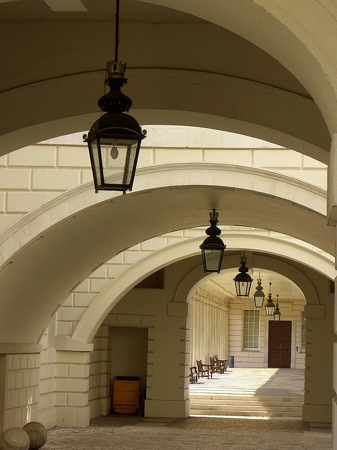 Arches and collonade, Queen's House, Greenwich, London by archidave, via Flickr