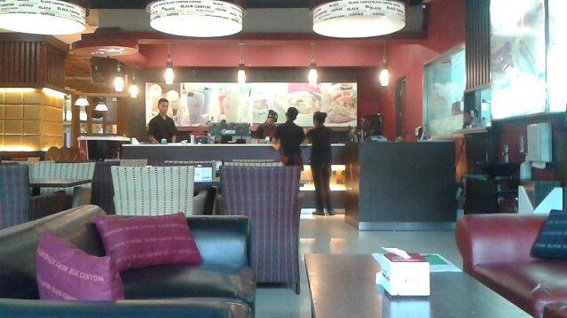 Coffee shop Cambridge times square