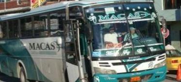 La cooperativa de Transporte Macas suspendió sus actividades esta mañana como medida cautelar impuesta por la Agencia Nacional de Tránsito (ANT), tras el accidente registrado el pasado sábado.